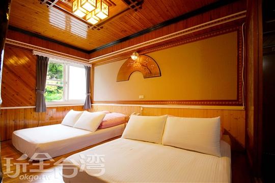 日式風格四人套房