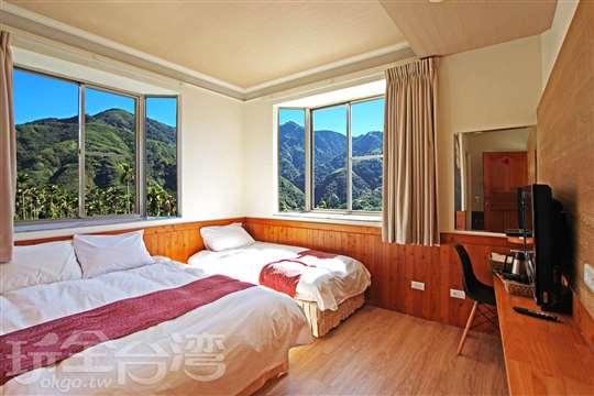 溫馨景觀雙人房(二小床)
