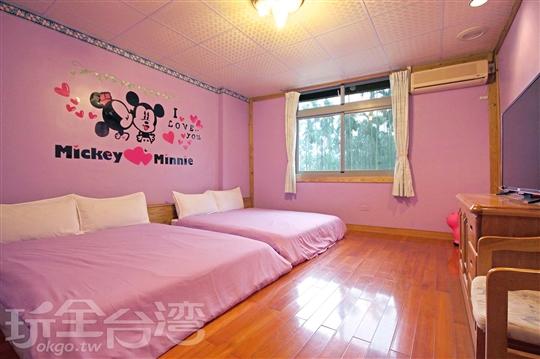 經典親子四人套房 Twin Double Japanese Room
