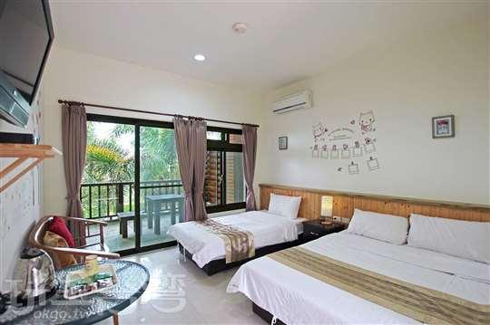 溫馨3人親子套房(一張標準雙人床+一張標準單人床)