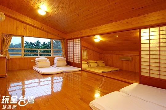 和室檜木團體房(12人)(小白菜)
