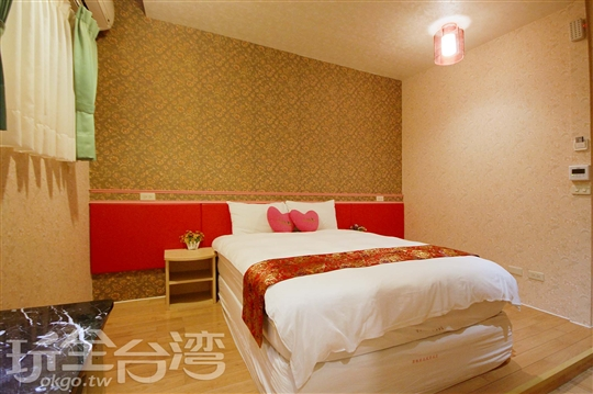 08【A碼頭館】302-皇家玫瑰雙人房