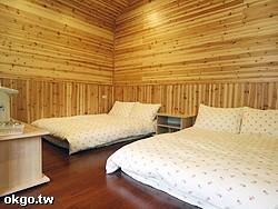 4人景觀木屋套房