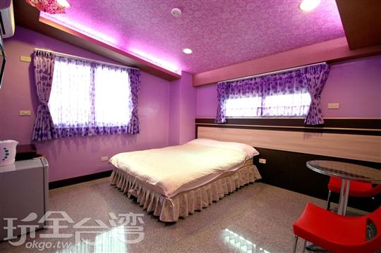 503 蘋果紫色戀人2人套房