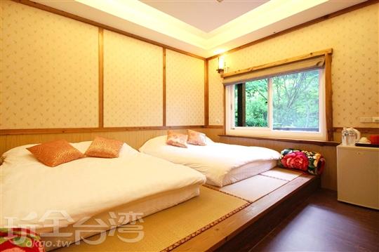 禪風日式4人套房
