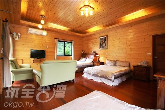 2.優質獨棟6人木屋
