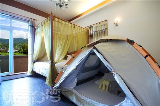 柚木帳篷4人房