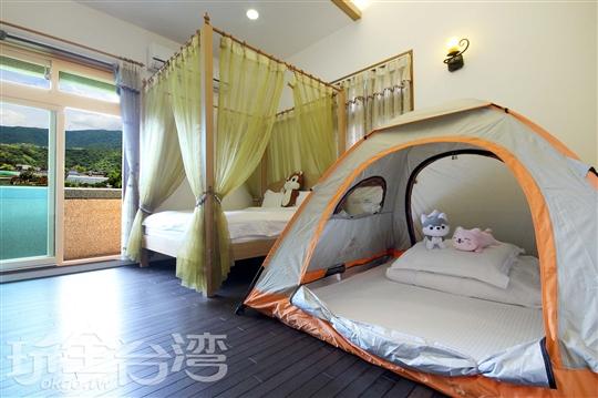 檜木帳篷4人房