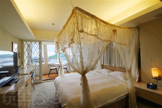 A1:蔚藍海景套房 (公主簾)(不含早餐)