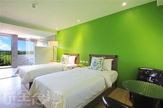 景觀尊榮雙人房(2張單床)