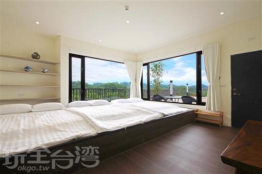 日式景觀六人房(3大床)