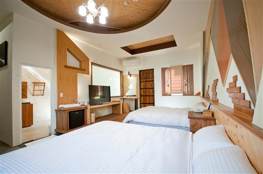 山景經典雙床房1
