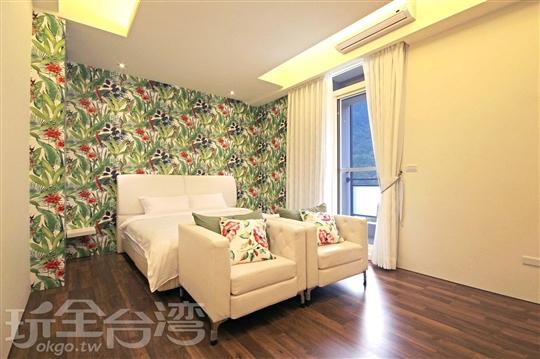 小綠綠雙人房 (401號房)