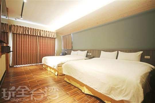 洋樓加大雙床客房(2人價)209