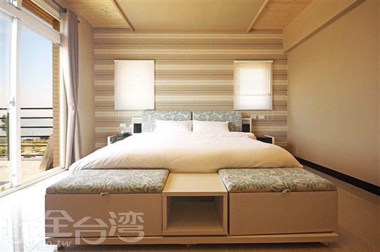 【一館】203海景豪華大床房
