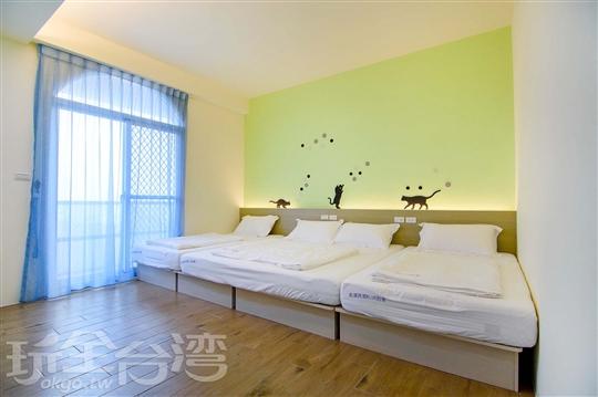 302溫馨親子房