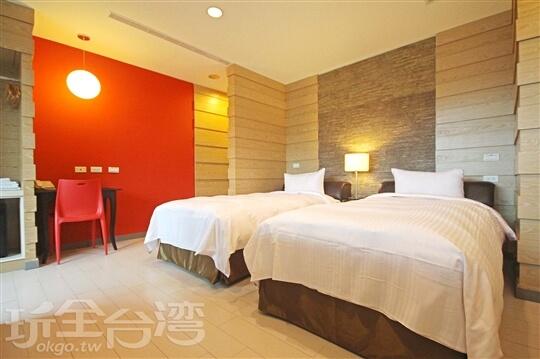 雙人房兩小床