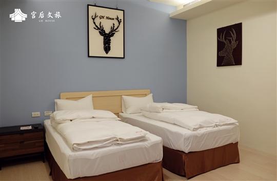 經典雙人房-雙床
