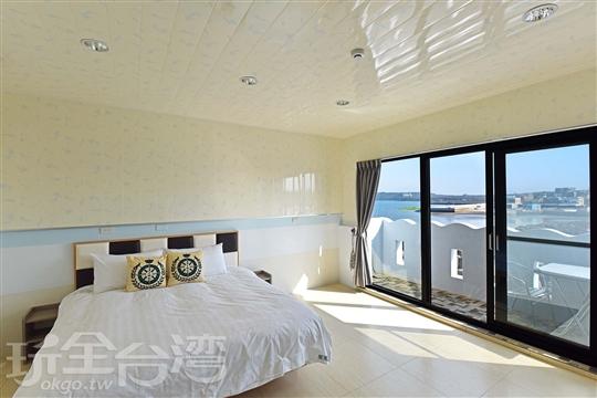 301沙蟹-海景雙人房