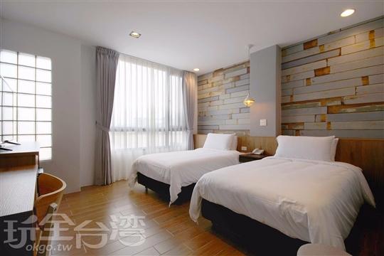 雙床兩人房(兩小床) Twin  room