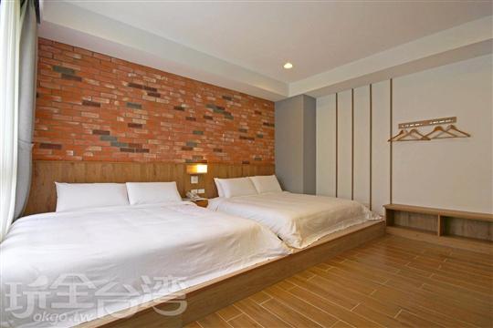 和洋四人房 (兩大床)Deluxe suite room