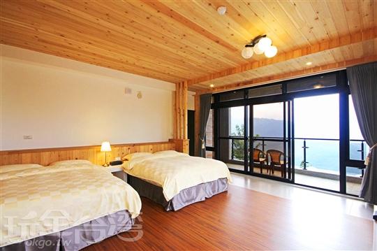 C・2樓山景樹林景觀・4~6人套房