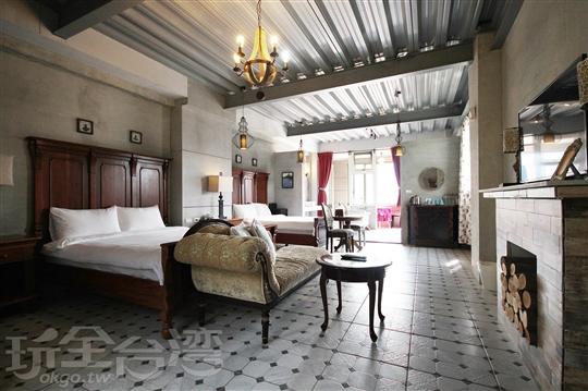 1869法國巴黎VIP4人房