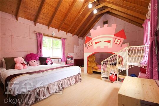 公主世界2大2小木屋