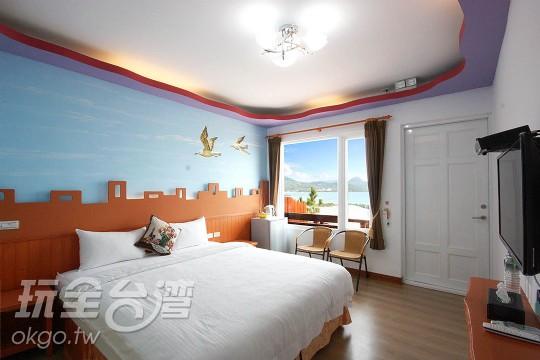 1F 海景二人房