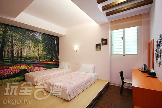 205 兩人房(2小床)