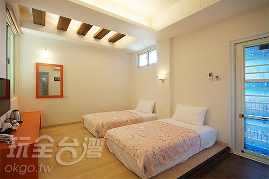 206 兩人房(2小床)
