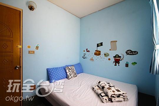 4F. 深藍舍 二人房