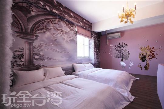 3樓 夢幻仙子4人房