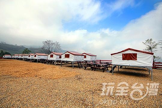 空中帳篷(共30棟)