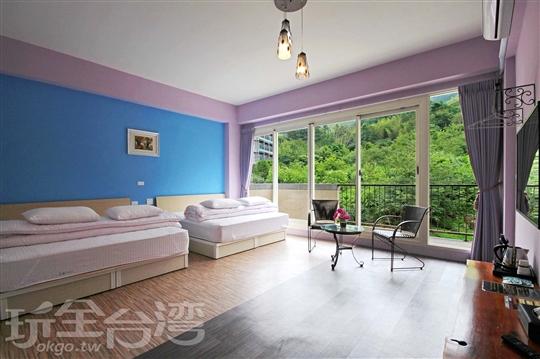 205 四人套房-藍