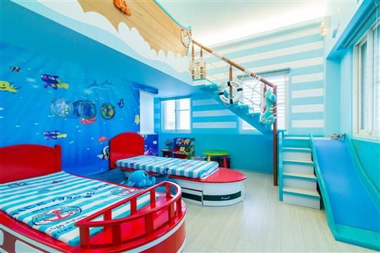 兒童王國-海洋世界四人房