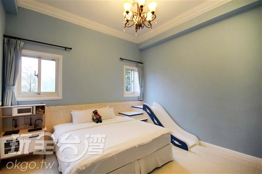 一樓藍色雙人房