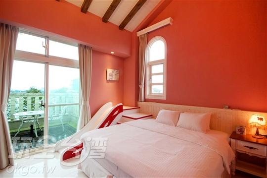 二樓紅色雙人房