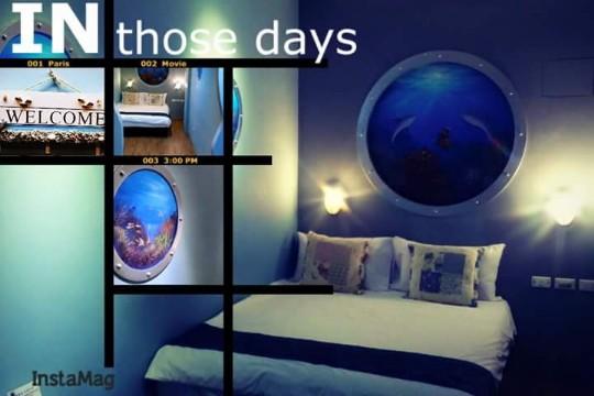 潛水艇之夜2人房(位於3樓/附浴池)