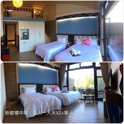 7.樓中樓五人房 / 2大床+1小床