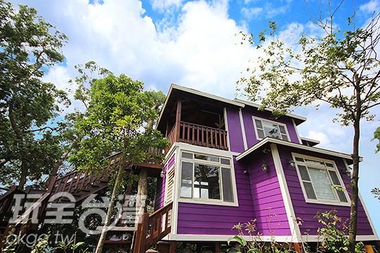 【木屋包棟】木屋樓下4人房+木屋樓上2人房/限6人