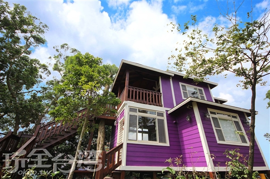 【名宿木屋包棟】木屋樓下4人房+木屋樓上2人房/限6人
