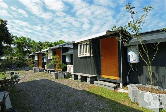 D棟營區庭園小屋