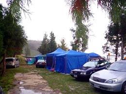 拉拉山露營.雲頂休閒露營區