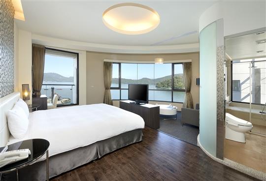 日月潭湖悅旅店