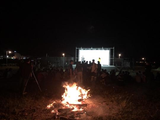 團體迎新營火活動