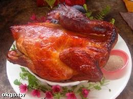 帶有木柴香味的甕仔雞
