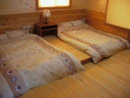 統木屋房間