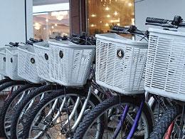 免費提供自行車