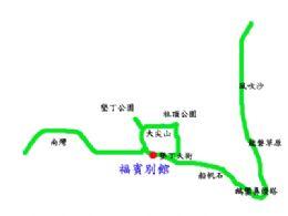 福賓別館位置圖